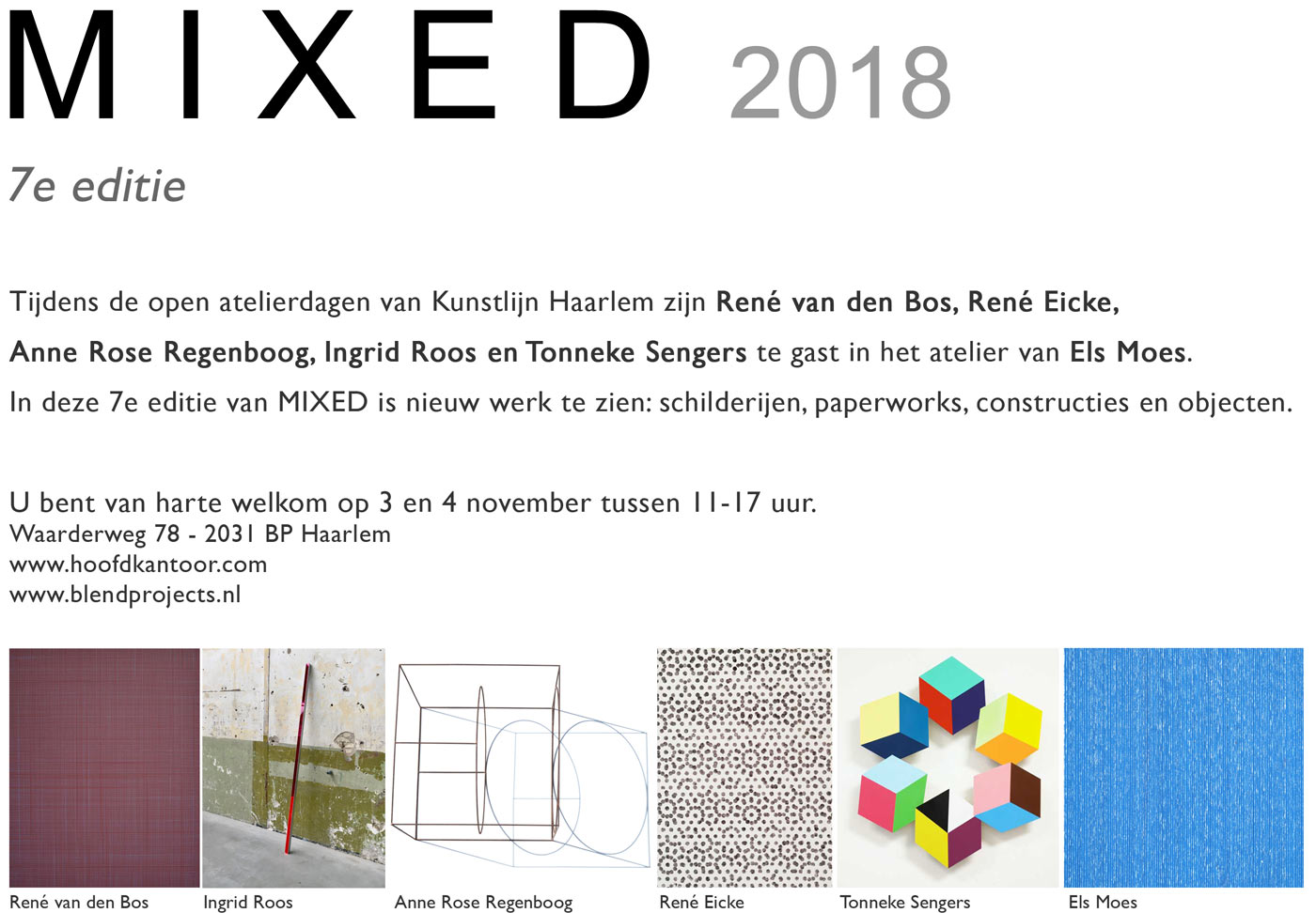 Blend Projects, MIXED 2018